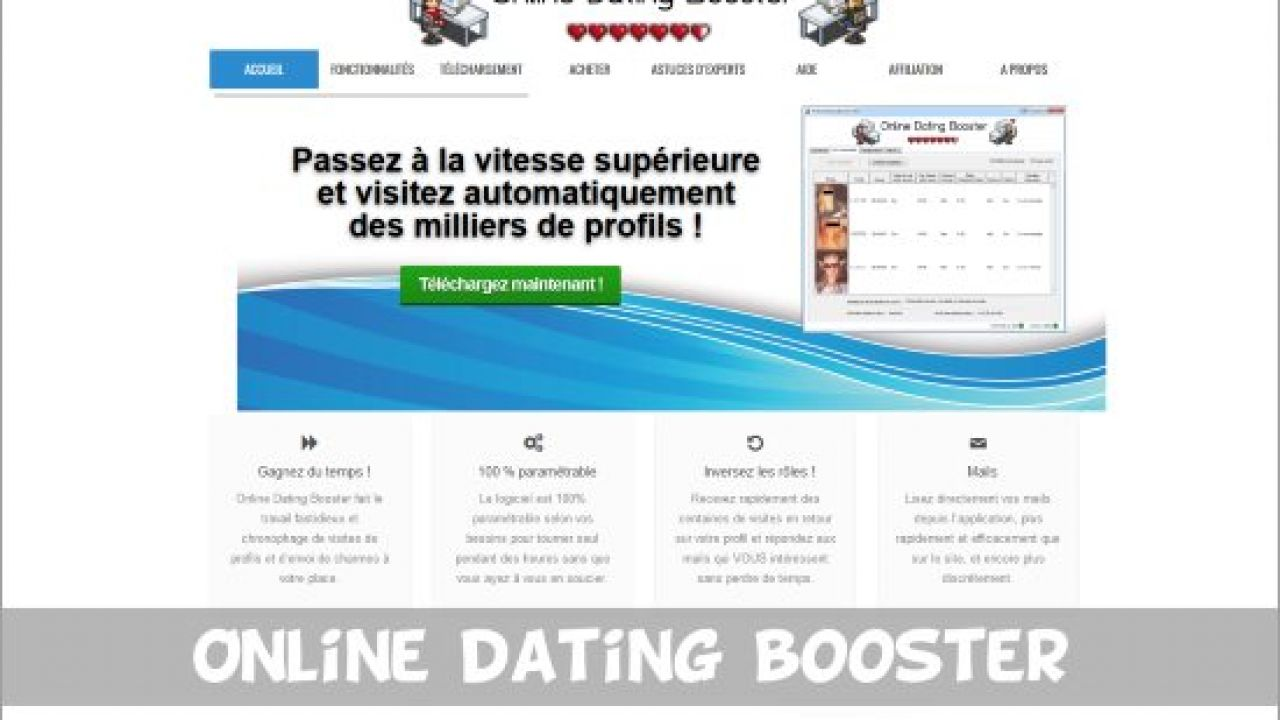 online dating Booster vastaava