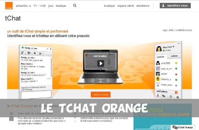Tchat Orange - Test et AVis