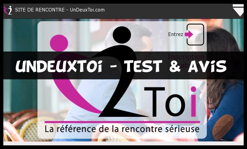 Sites de rencontres avis