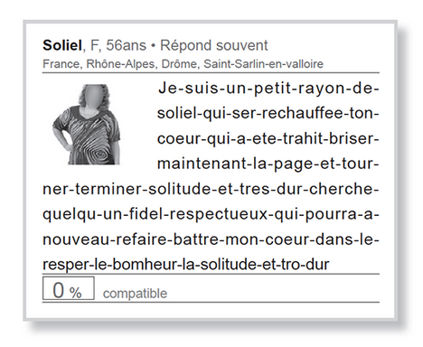Exemple de description de soi pour site de rencontre
