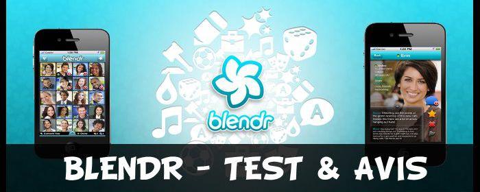Blendr - Test & Avis