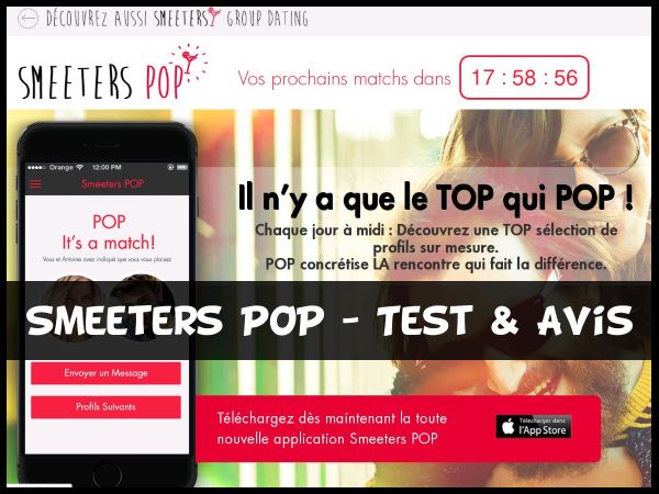 Smeeters POP - Test & Avis