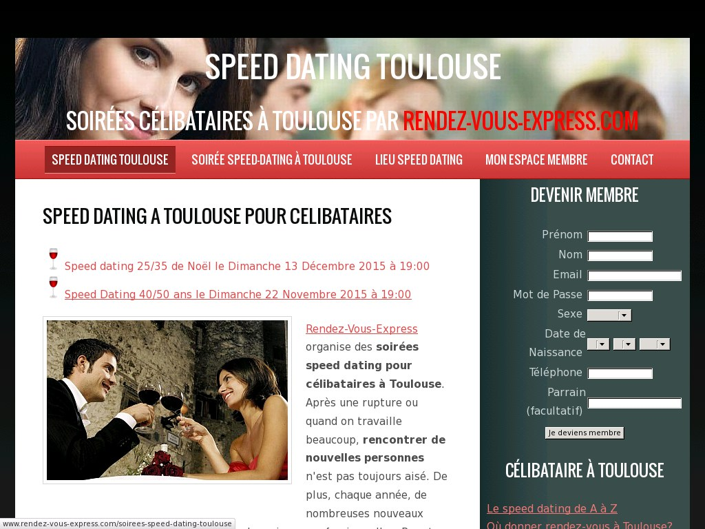 Speed dating la rencontre annecy