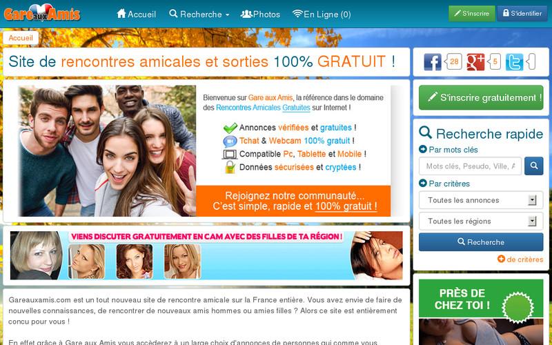 Sites rencontres amicales gratuits