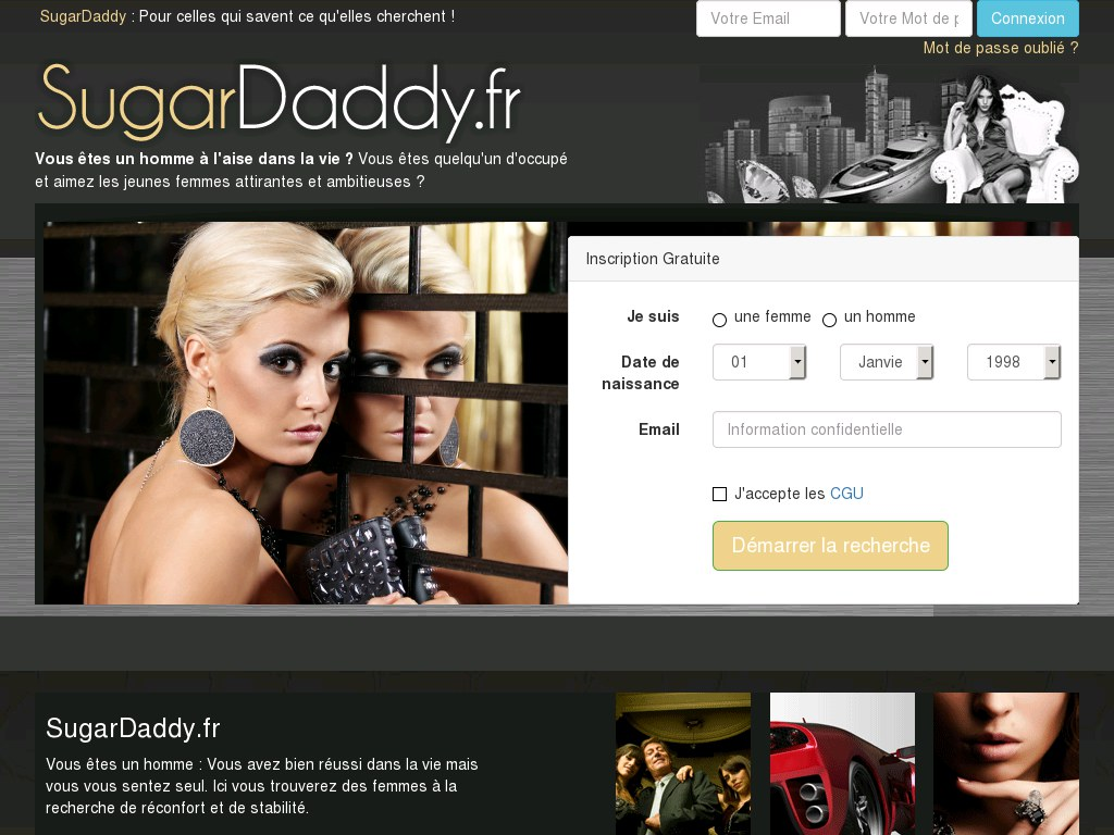 SugarDaddy - Test & Avis
