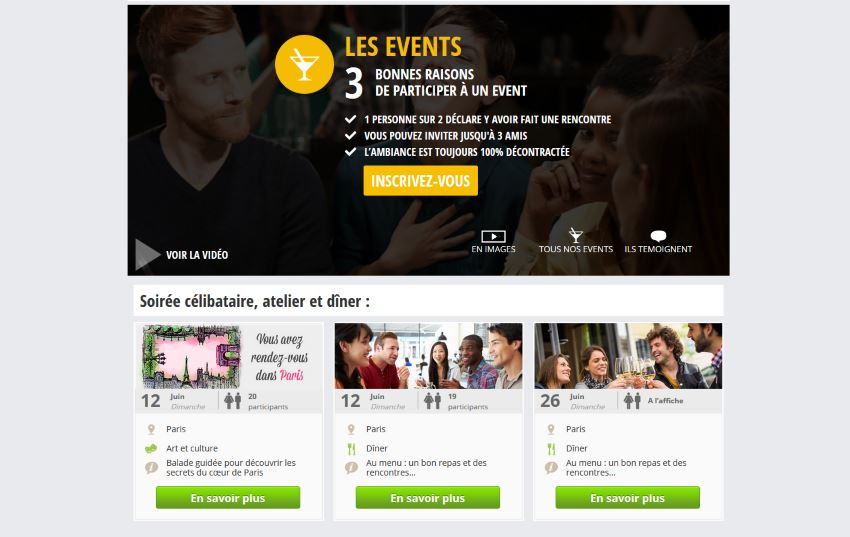 Meetic - Events