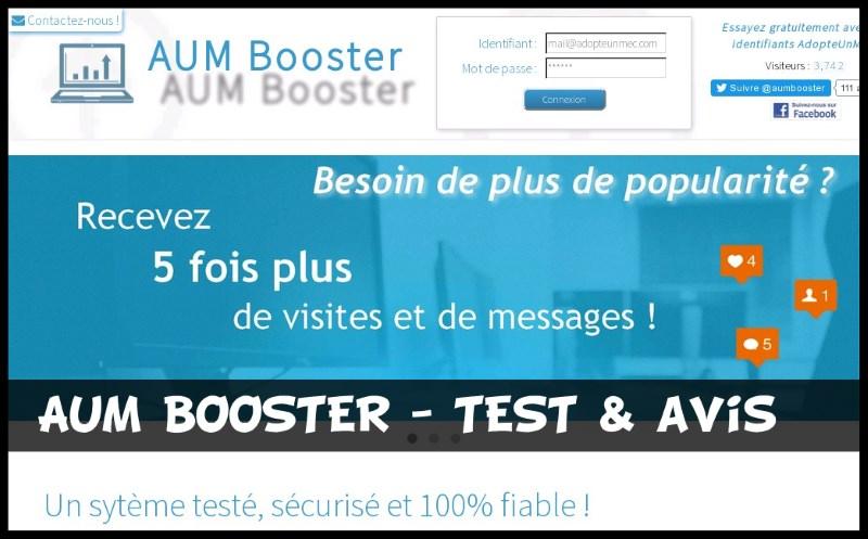 AUM Booster - Test & Avis