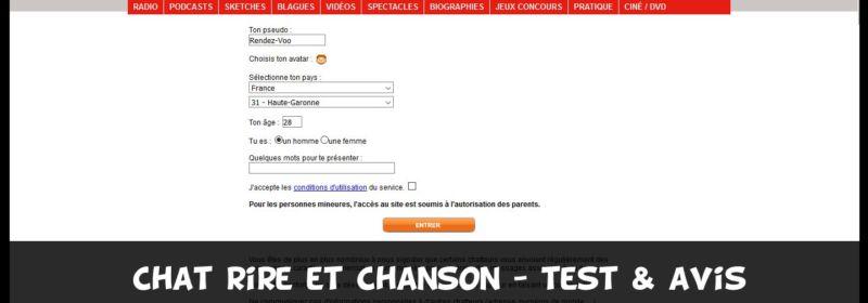 Tchat Rire et Chanson – Test & Avis