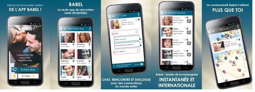 Babel CHAT Gratuit avec ou sans inscription - 01amour.com