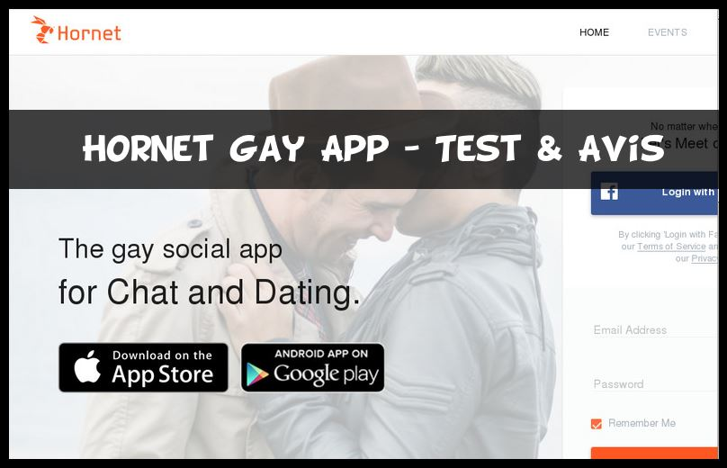 Hornet Gay App - Test & Avis