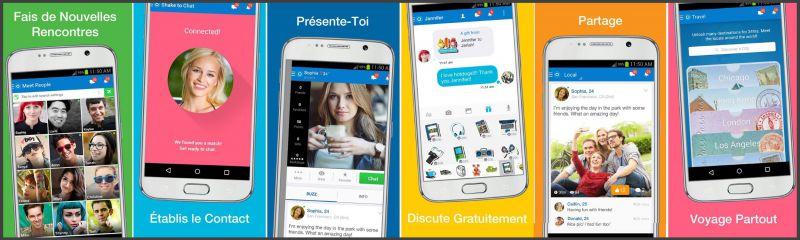 Skout - Apercu Interface App