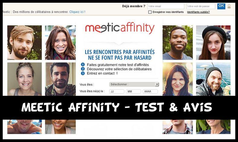 meetic affinity - rencontres entre célibataires test d'affinités - coaching - conseils Suresnes