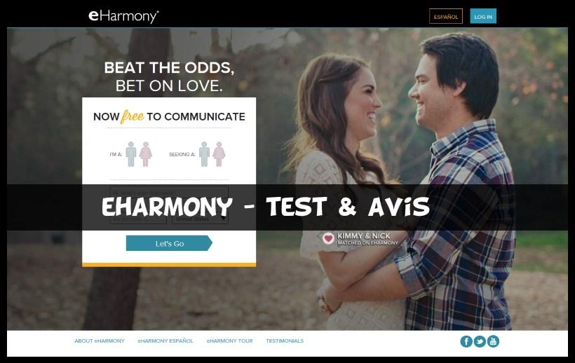 Site rencontre eharmony