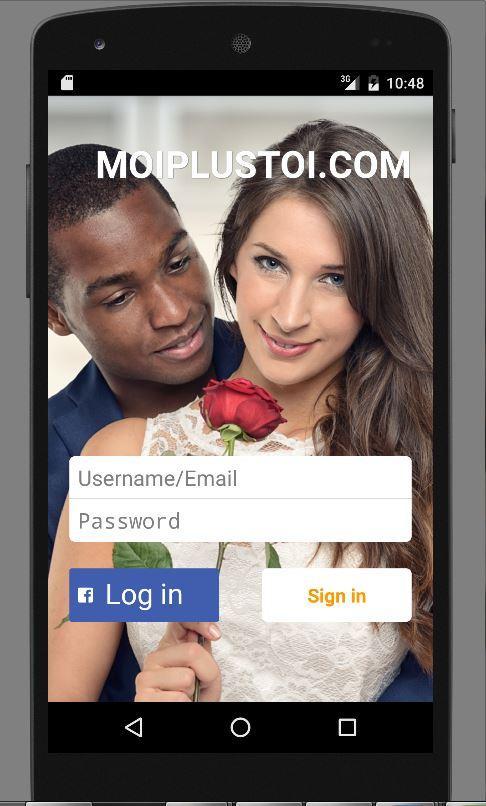 Moi+Toi - Application Mobile