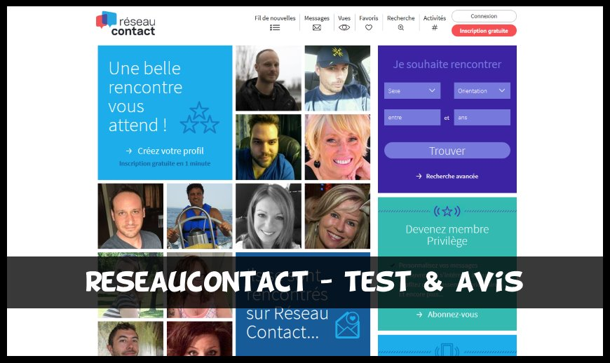 ReseauContact - Test & Avis