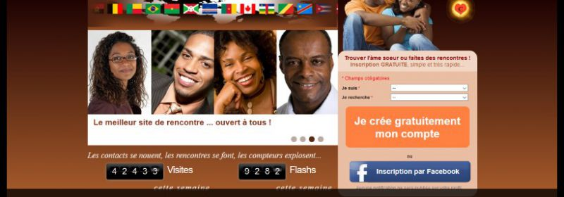 Site rencontre afro antillais