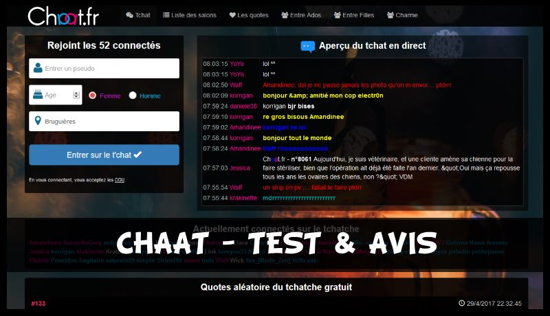 Chaat- Test & Avis