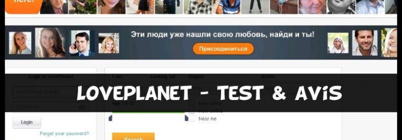 Loveplanet - Test & Avis