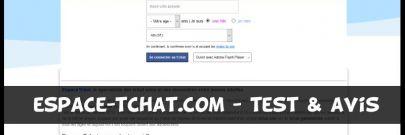 Espace-Tchat - Test & Avis