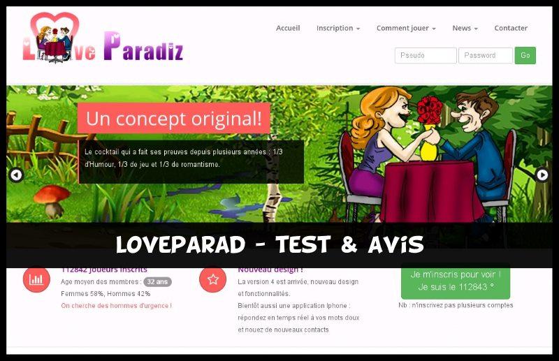 LoveParad - Test & Avis
