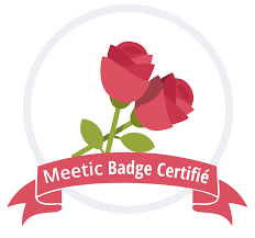 Meetic - Badge