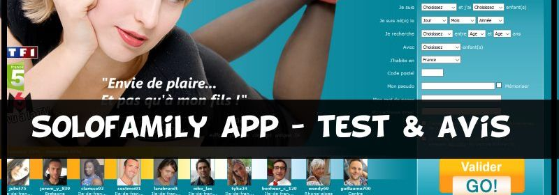 Solofamily app - test & avis