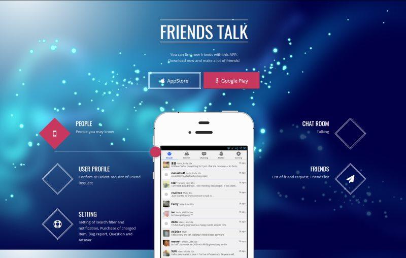 Friends Talk App - Test & Avis