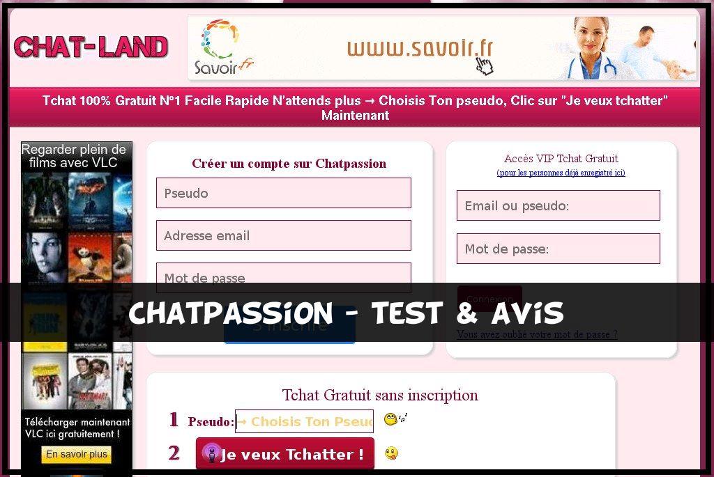 ChatPassion - Test & Avis